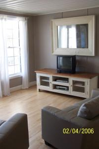 A television and/or entertainment center at Brae Lossie