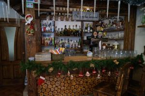 The lounge or bar area at Dacha