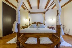 Cama o camas de una habitación en Hotel Tossal d'Altea