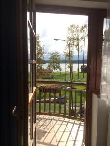 Ein Balkon oder eine Terrasse in der Unterkunft Hotel Na Pláži