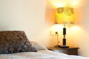 Een bed of bedden in een kamer bij Cases Noves - Boutique Accommodation - Adults Only