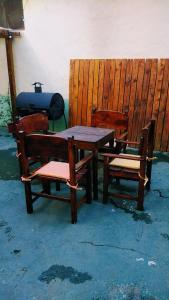 A seating area at Posada del Buscador