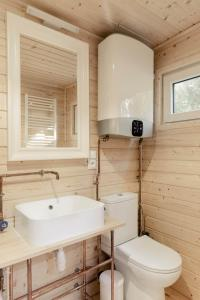 A bathroom at 4rest Camp