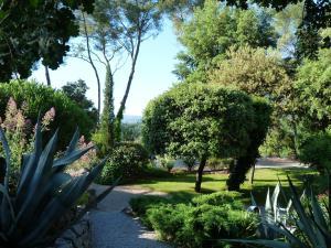 A garden outside Le Mas du Péré