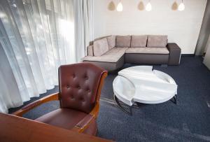 Część wypoczynkowa w obiekcie Hotel Inter