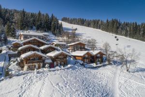 Almdorf Flachau im Winter