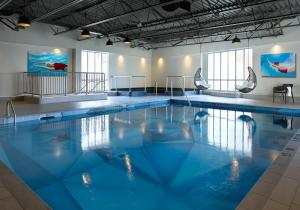 The swimming pool at or near The Novotel Toronto Centre