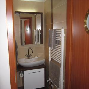Koupelna v ubytování Penzion Letná