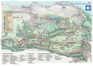 A bird's-eye view of Lieu Secret dans les Alpes Suisses