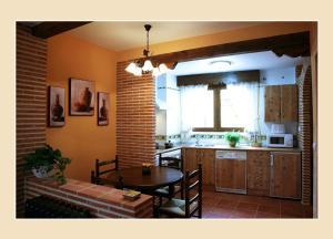 A kitchen or kitchenette at Casa Tia Paula