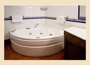 A bathroom at Casa Tia Paula