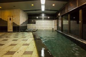 The swimming pool at or close to Oshuku Onsen Kagasuke