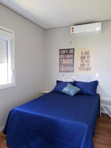 Cama o camas de una habitación en Apto Container 1 dorm