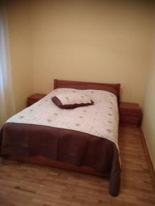 Кровать или кровати в номере Гостиничный Комплекс Бабаево