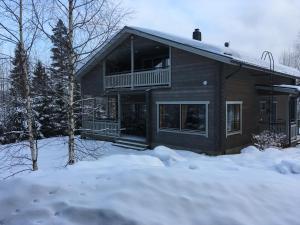 Rautjärvi Cottage during the winter