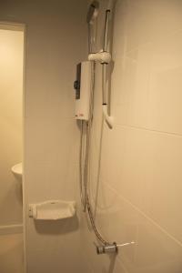 A bathroom at Lazy Sandals