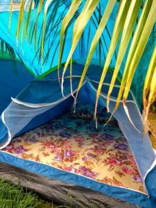 Cama ou camas em um quarto em Tié Itaguá Hostel