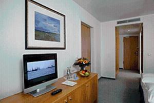 TV/Unterhaltungsangebot in der Unterkunft Stadthotel Oranienburg