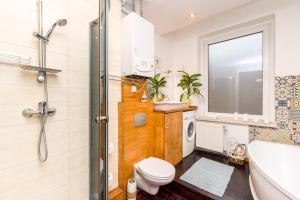 Łazienka w obiekcie Apartament Żurawia
