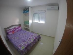 Cama o camas de una habitación en Residencial Gabrielly