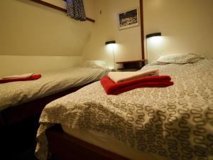 Un ou plusieurs lits dans un hébergement de l'établissement Hotelboat Sarah