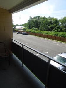 A balcony or terrace at Crystal Inn - Neptune