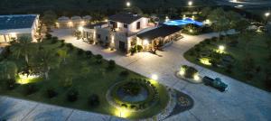 Vista aerea di Ferrocino Resort