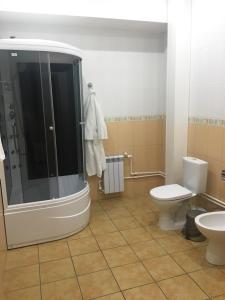 Ванная комната в Отель Звездный Дом