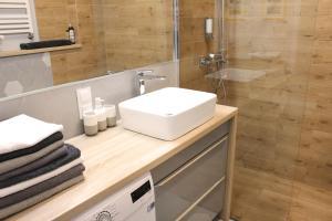 Łazienka w obiekcie Apartament Słoneczny
