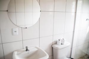 A bathroom at Pousada do Rui