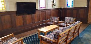 A seating area at Barrington Church B&B