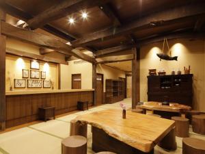 Restauracja lub miejsce do jedzenia w obiekcie Onyado Yuinosho