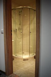Ein Badezimmer in der Unterkunft Pension Ethner