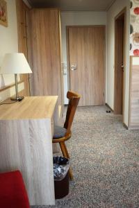 Ein Sitzbereich in der Unterkunft Pension Ethner