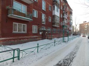 Студия в тихом районе зимой