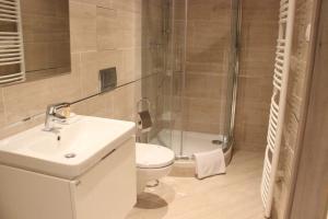 Ein Badezimmer in der Unterkunft Apartman Praha