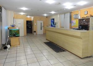The lobby or reception area at Hotel Capriccio Mauá