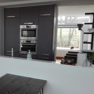 A kitchen or kitchenette at Stoomzicht