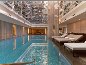 The swimming pool at or near Raffles Istanbul
