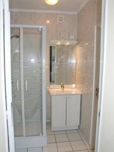 Salle de bains dans l'établissement Snowden House, Somme Battlefields