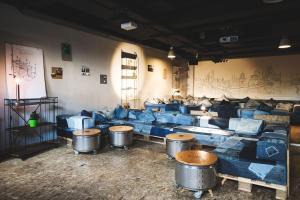Lounge oder Bar in der Unterkunft Superbude Hotel Hostel St. Georg