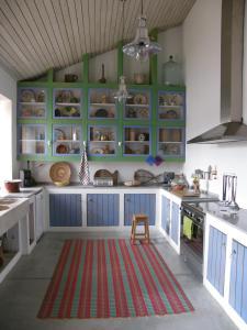 A cozinha ou kitchenette de Casa da Ermida de Santa Catarina