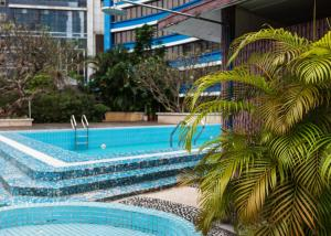The swimming pool at or near Ocean Hotel