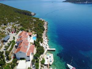 Blick auf Hotel Bozica Dubrovnik Islands aus der Vogelperspektive