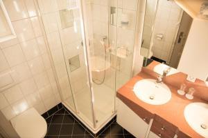Ein Badezimmer in der Unterkunft Hotel Toggenburgerhof