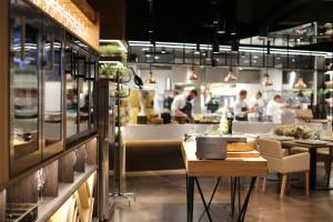Restauracja lub miejsce do jedzenia w obiekcie HAVET Hotel Resort & Spa