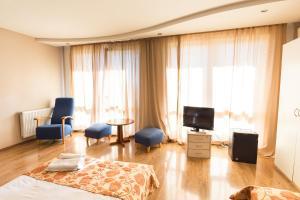 Гостиная зона в Alazani Valley Hotel