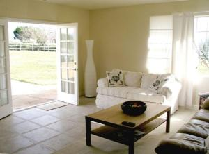 A seating area at Coopers Creek Santa Ynez