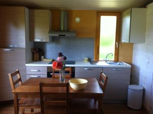 A kitchen or kitchenette at Domaine De Silvabelle