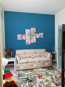 Area soggiorno di Apartment Como